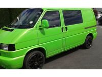 Vw transporter t4 fitted with kicthen etc