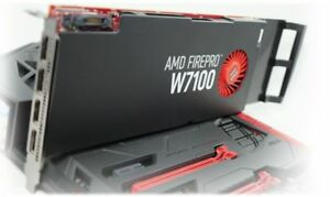 AMD FirePro W7100 8GB DDR5 in working condition using Hp Z420 PC