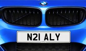 N21 ALY NetPlates Personalised Cherished Car Registration Plate Private Number Plate BMW AUDI JAG VW