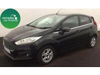 £162.47 PER MONTH BLACK 2013 FORD FIESTA 1.6 ECONETIC TITANIUM S/S 5 DOOR DIESEL