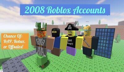 *ULTRA RARE* 2008 Roblox Accounts