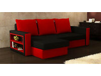CORNER SOFA BED UNWANTED GIFT