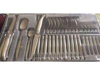 Laguiole cutlery set.