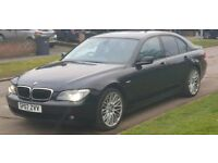 BMW 730D SPORT AUTO 2007 SERVICE HISTORY FACE LIFT MODEL FULLY LOADED NEW MOT