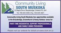 Residential Support Professionals / Family Home Providers