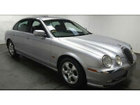 2001 JAGUAR S TYPE 3.0 V6 SE AUTOMATIC MET SILVER,LOW MILES,LONG MOT,PRIVATE PLATE,LOVELY CAR