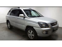 2008(08)KIA SPORTAGE 2.0 CRDi XS 4WD MET SILVER,6 SPEED,NICE SPEC,GREAT VALUE