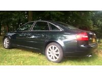 2002 AUDI A6 1.9 TDI SPORT 130 BHP 6 SPEED GEARBOX FULL SVCE HISTORY / TIMING BELT CHANGED 20K AGO