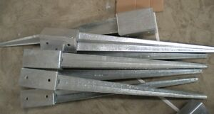 WANTED Metal Spikes for 4x4 wood post Deck/Fence