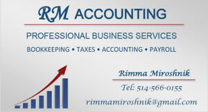 Accounting, Taxation & Bookkeeping Services