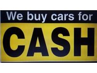 We buy cars runners non runners top price paid on collections 100 to 4000