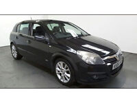 2006(06)VAUXHALL ASTRA 1.9CDTi DESIGN BLACK,5DR,6 SPEED,CLEAN CAR,GREAT VALUE