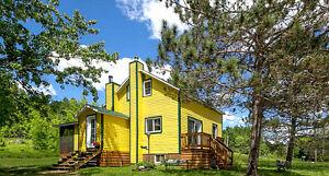 Chalet à louer - La Maison jaune de Chute-Saint-Philippe