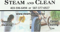 Move out cleaning and steam carpet cleaning at the same day