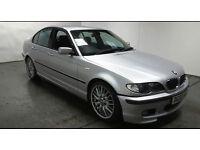 2002(02)BMW 330D SPORT MET SILVER,FULL LEATHER,LONG MOT,2 OWNER,GREAT VALUE