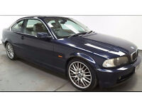 1999(V)BMW 328Ci AUTOMATIC MET BLUE,TAN LEATHER,LOW MILES,GREAT VALUE