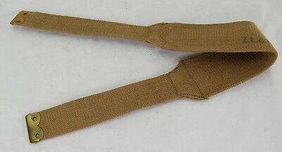 Original WWII British/Canadian Bren pouches Yoke 1941
