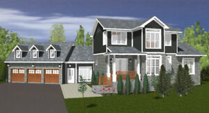 Gorgeous 3 Bedroom Home Under Construction on 5 Acres of Land