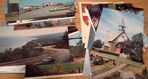 lot of 40 postcards from NS to NFLD very nice and old