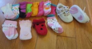 Variety of Baby Girl Items (Newborn and up)