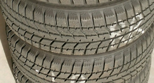4 Bridgestone Blizzak Winter Tires (195/60R15) Excellent cond.
