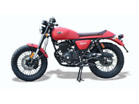 WK Bikes Legend 125. Learner Legal. Cafe Racer.
