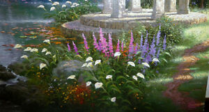 "Thomas Kinkade ""Garden of Prayer"" Art Print Stratford Kitchener Area image 4"