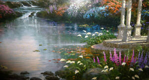 "Thomas Kinkade ""Garden of Prayer"" Art Print Stratford Kitchener Area image 5"