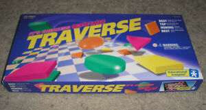 """RARE-1992 Educational Insights """"TRAVERSE"""" Checkers Gone Wild! London Ontario image 1"""