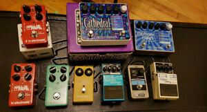 ***AMPS GUITARS AND PEDALS*** Fender Boss Ehx Tc