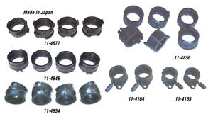 Old and Newer Kawasaki Motorcycle ATV Carb Boots Flanges Holders