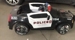 12 volt Battery powered police car