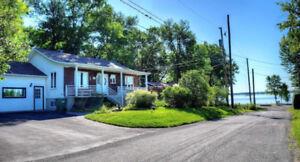 Maison a vendre Lavaltrie vue sur le fleuve