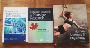 1st and 2nd year nursing textbooks