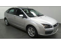 2007(57)FORD FOCUS 1.8 ZETEC CLIMATE MET SILVER,AIRCON,ALLOYS,GREAT VALUE