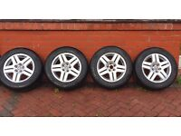 Volkswagen Golf Bora MK4 GT alloys and Tyres
