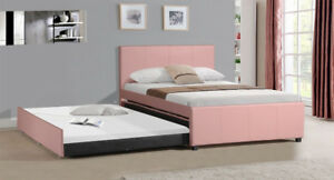 Trundle double bed