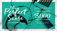 Win a $5,000 Shopping Spree at Mayfair Shopping Centre!