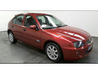 2005(05)ROVER 25 1.4 Si MET RED,VERY LOW MILES(45K),CLEAN CAR,GREAT VALUE