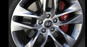 "19"" rims with bf Goodrich gforce tires from 2013 genesis coupe"