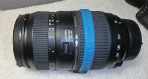 Nikon D90 with Tele-Macro lens