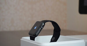 Space Black Apple Watch Series 2 W/ Bands + Apple Care +