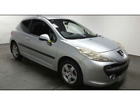 2007(57)PEUGEOT 207 1.4 SPORT MET SILVER,ALLOYS,3DR,GREAT VALUE