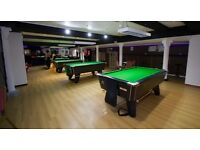 Manager or management couple for pool snooker club