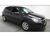 2006(06)VAUXHALL ASTRA 1.6 ACTIVE BLACK,FSH,CLEAN CAR,GREAT VALUE