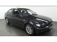 2004(54)BMW 318D ES 2.0 DIESEL BLACK,LOW MILES,NEW MOT,GREAT VALUE