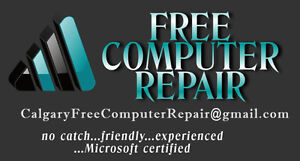 FREE Onsite Computer Repair in Calgary - Home or Business
