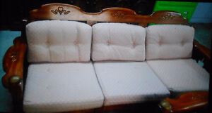 Sofa .  Comes with * FREE * Love seat & chair