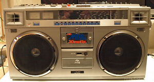 Vintage JVC RC-M70c Ghetto Blaster - SOLD - PENDING PICKUP