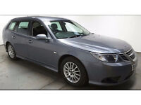 2008(08)SAAB 9-3 LINEAR SE 1.9 TiD ESTATE MET GREY,FACELIFT SHAPE,6 SPEED,CLEAN CAR,GREAT VALUE